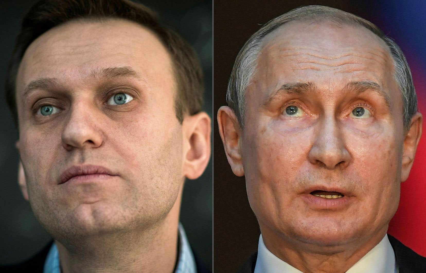 «J'affirme que Poutine est derrière cet acte, je ne vois pas d'autres explications», a affirmé Alexeï Navalny à l'hebdomadaire allemand<em>Der Spiegel</em>.