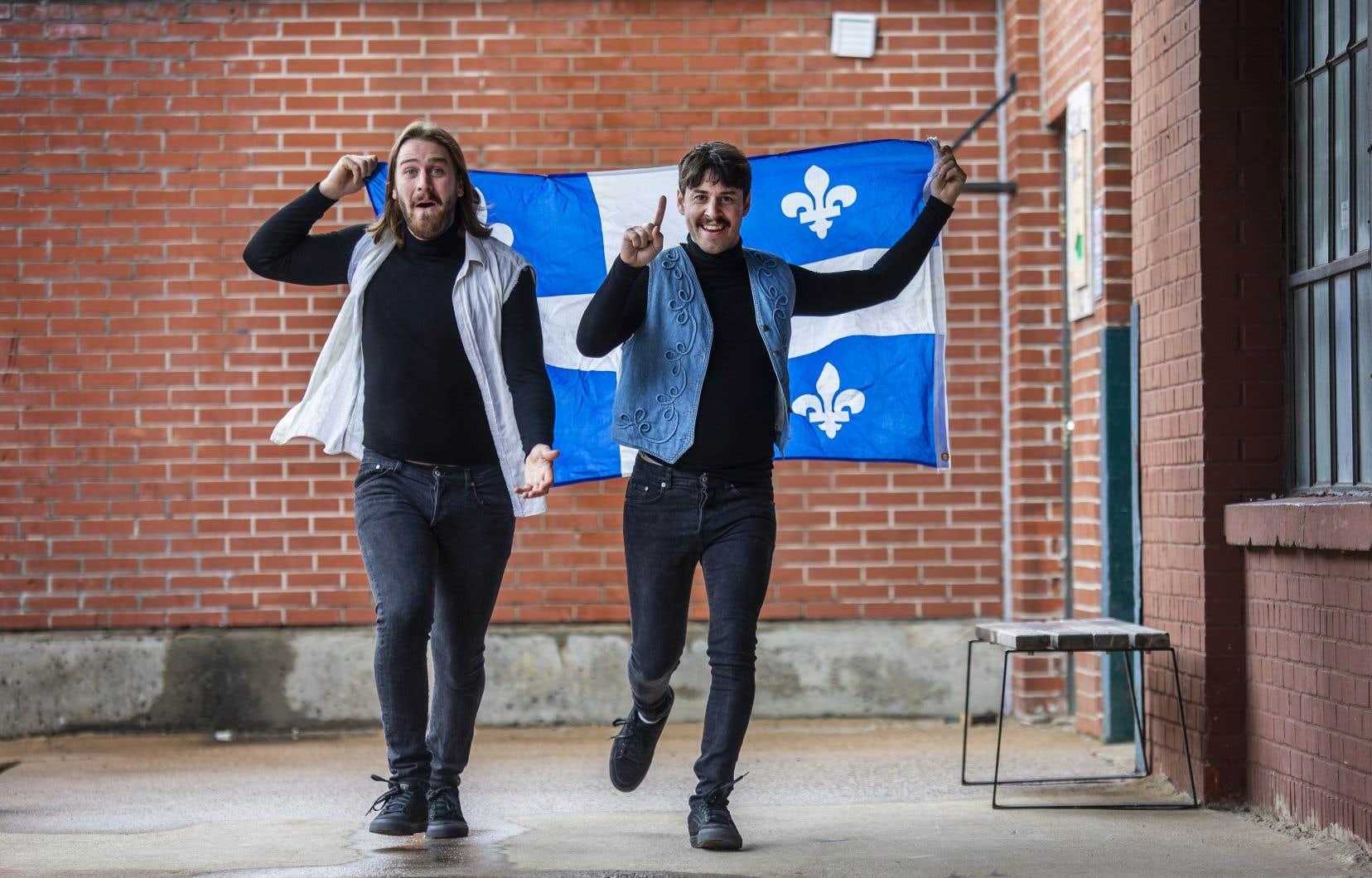 Le sont-ils ou ne le sont-ils pas, souverainistes? La question pourchasse François Ruel-Côté et Sébastien Tessier depuis la première fois qu'ils ont enfilé les petites vestes «pas-de-manches» et les cols roulés devenus l'uniforme officiel de Brick et Brack.
