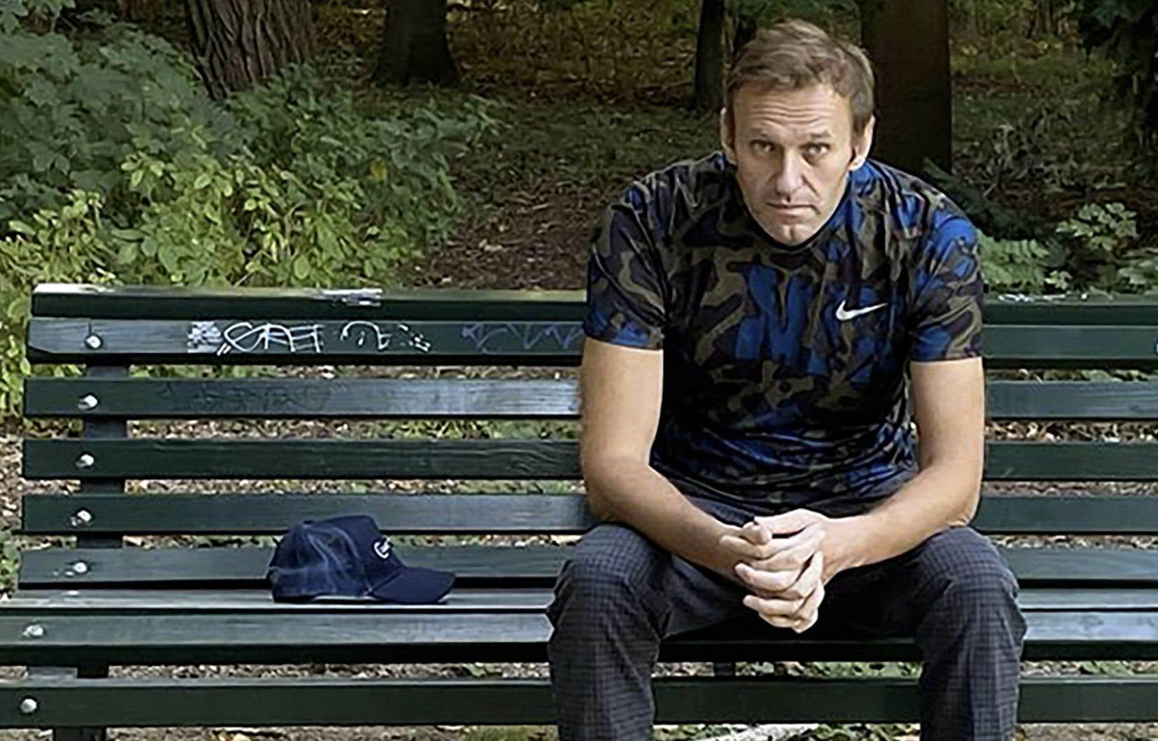 Interrogé sur la durée de sa convalescence en Allemagne, Alexeï Navalny a répondu ne pas savoir.