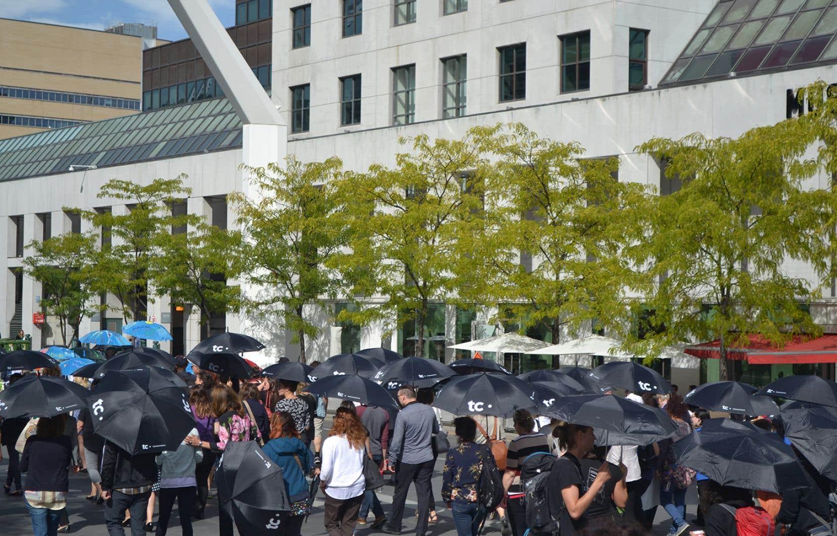 Marche Centraide aux 1000 parapluies