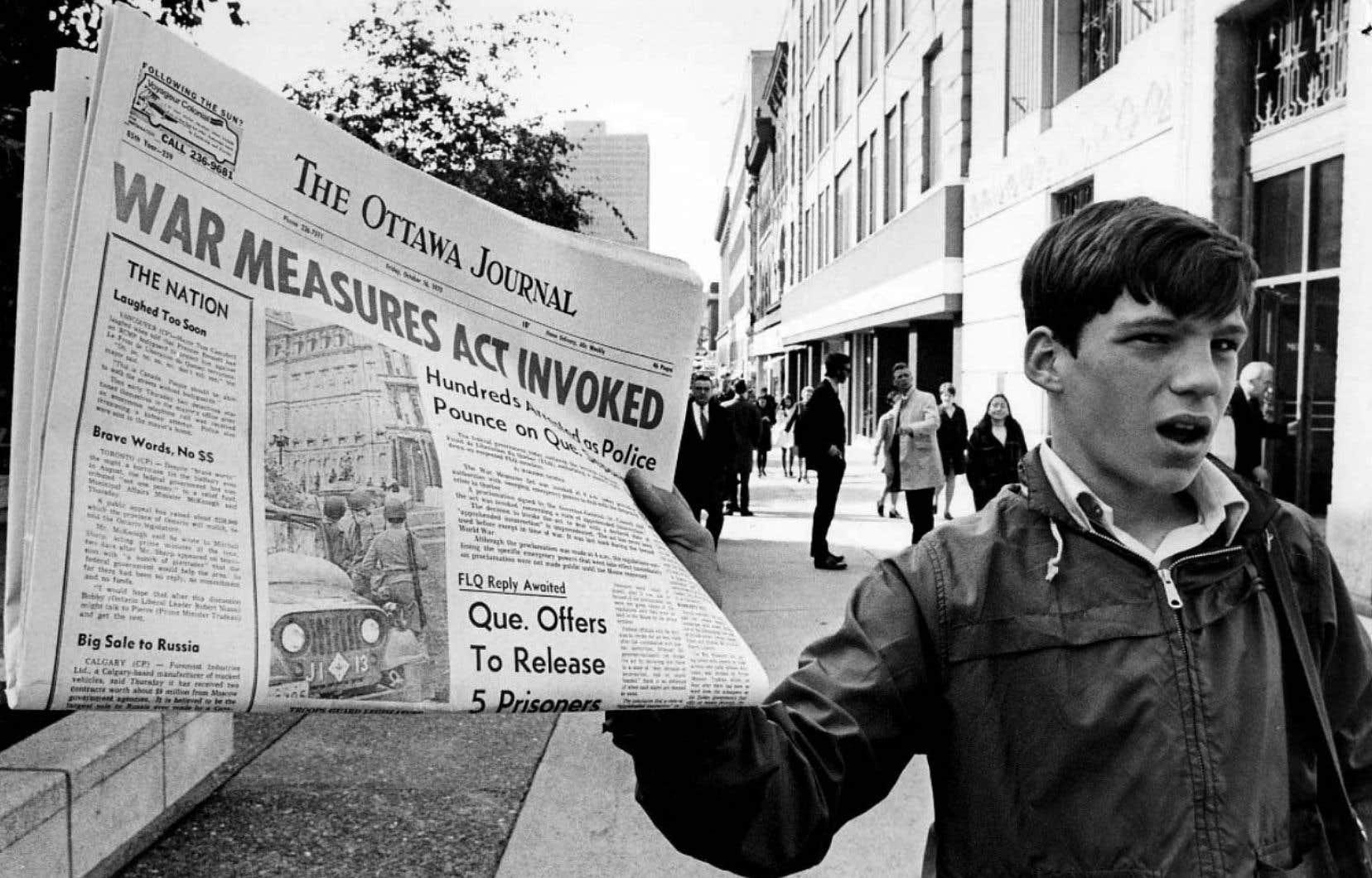 «Si le traitement infligé aux victimes de la rafle d'octobre 1970 est déplorable, les souffrances innommables infligées à MM.Laporte et Cross et à leur famille ne trouvent aucune justification», pense l'auteur.