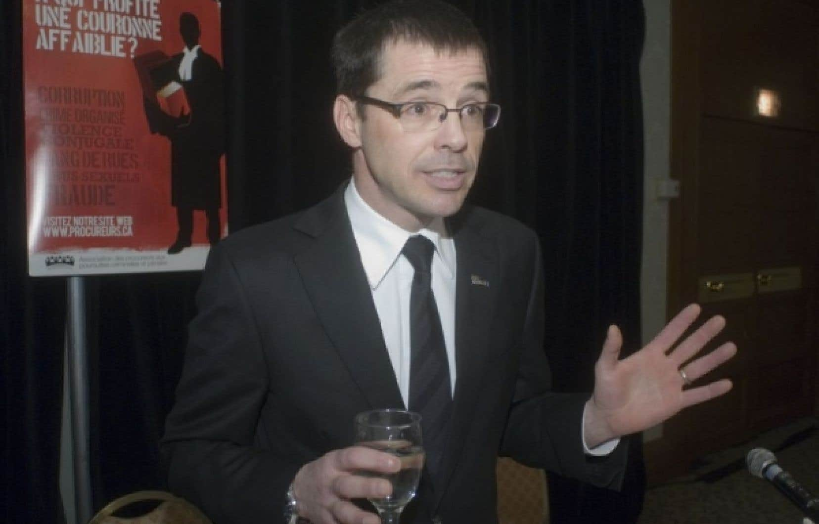 Me Christian Leblanc, le porte-parole des procureurs de la Couronne.