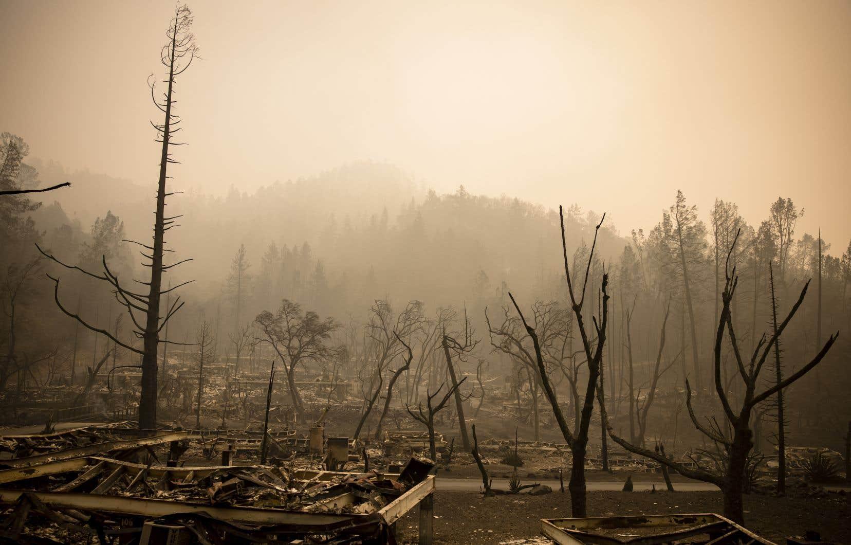 Le GIEC prévient que les événements climatiques extrêmes, comme les feux qui ont frappé récemment la Californie, devraient se multiplier au cours des prochaines années.