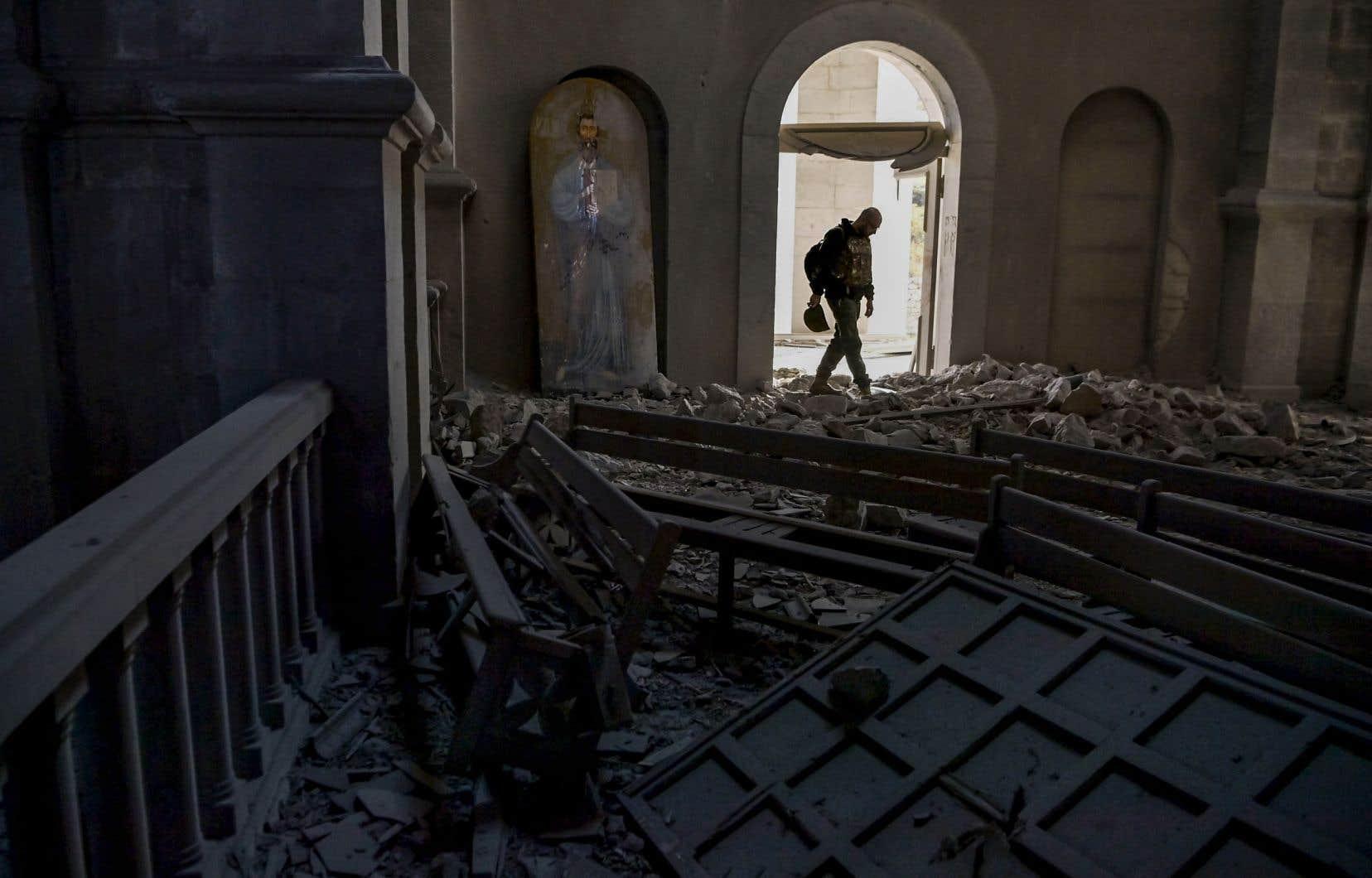 Le conflit au Haut-Karabakh se poursuit.