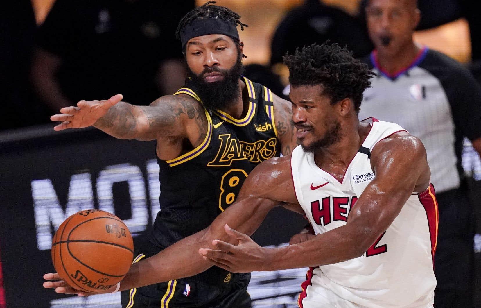 Jimmy Butler a récolté 35 points, 12 rebonds et 11 assistances dans ce cinquième match de la finale de la NBA.