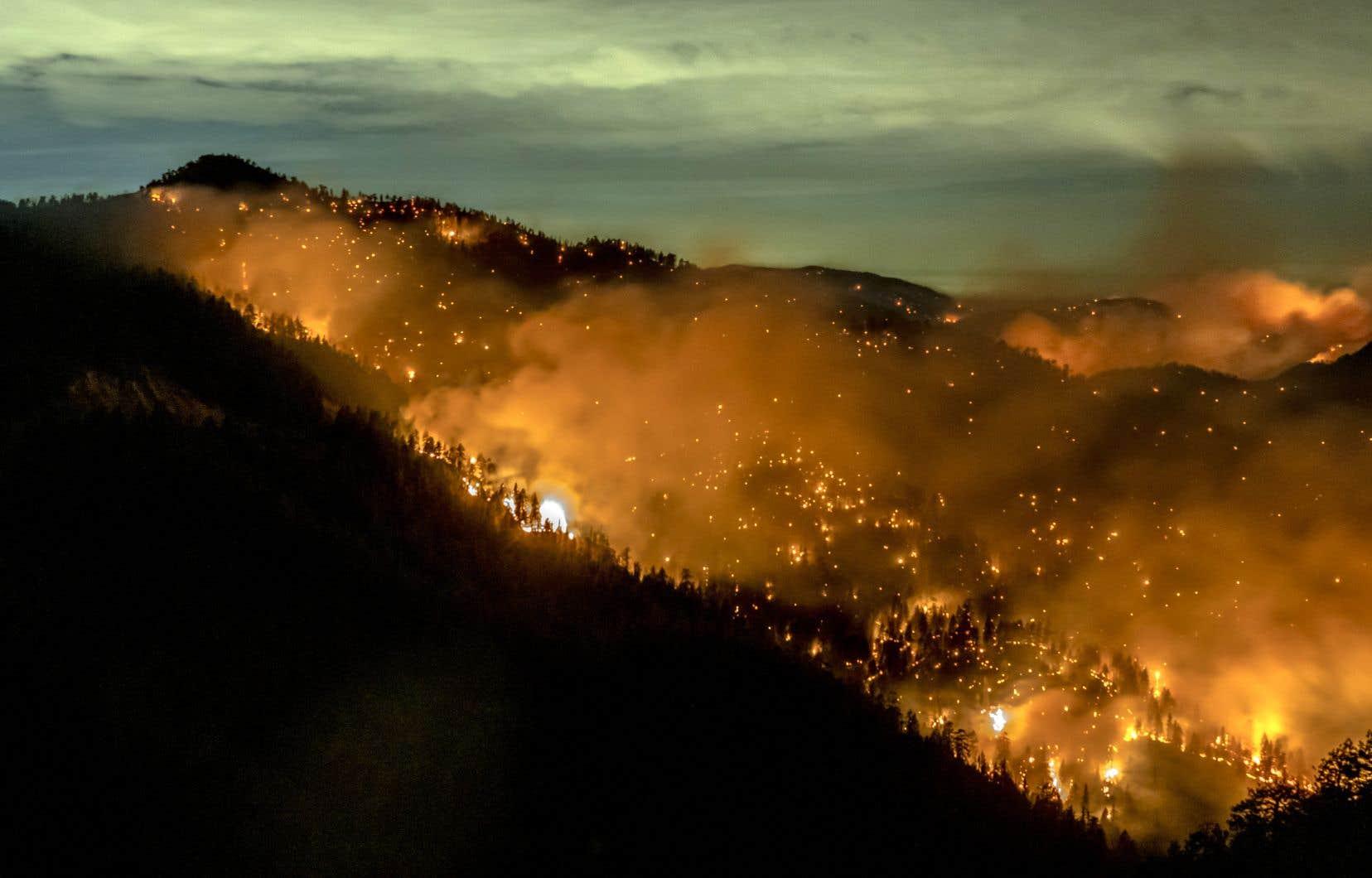 La sécheresse, les inondations, les incendies géants (comme ceux qui ravagent la côte ouest américaine) et d'autres catastrophes naturelles liées au changement climatique font fi des opinions politiques, avertit Christiana Figueres, l'ex-responsable de l'ONU pour le climat.