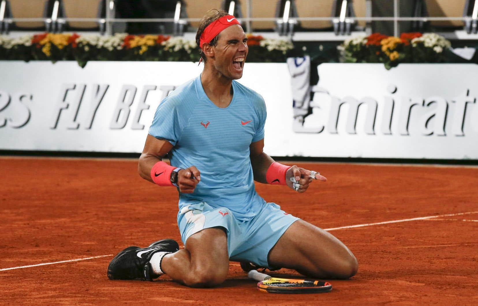 Il s'agit du treizième sacre deRafael Nadal à Roland-Garros.