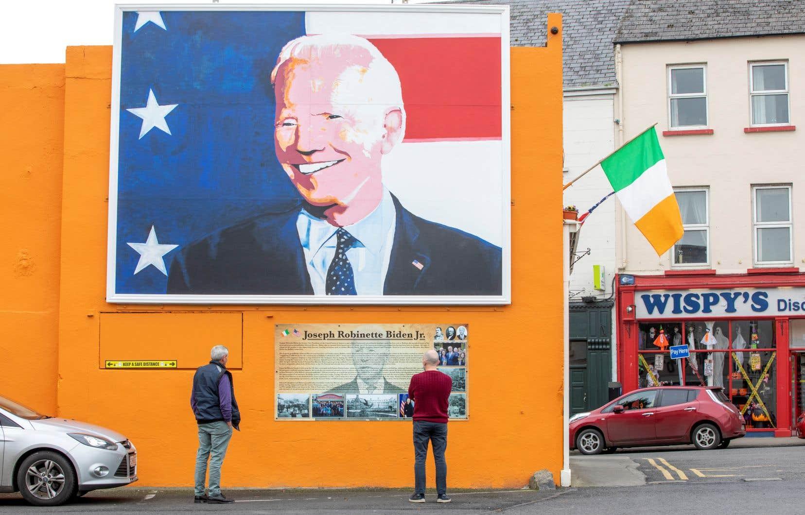 Joe Biden a un jour écrit que lorsqu'il mourra, «le nord-est de la Pennsylvanie sera inscrit dans mon cœur. Mais l'Irlande sera inscrite dans mon âme.»