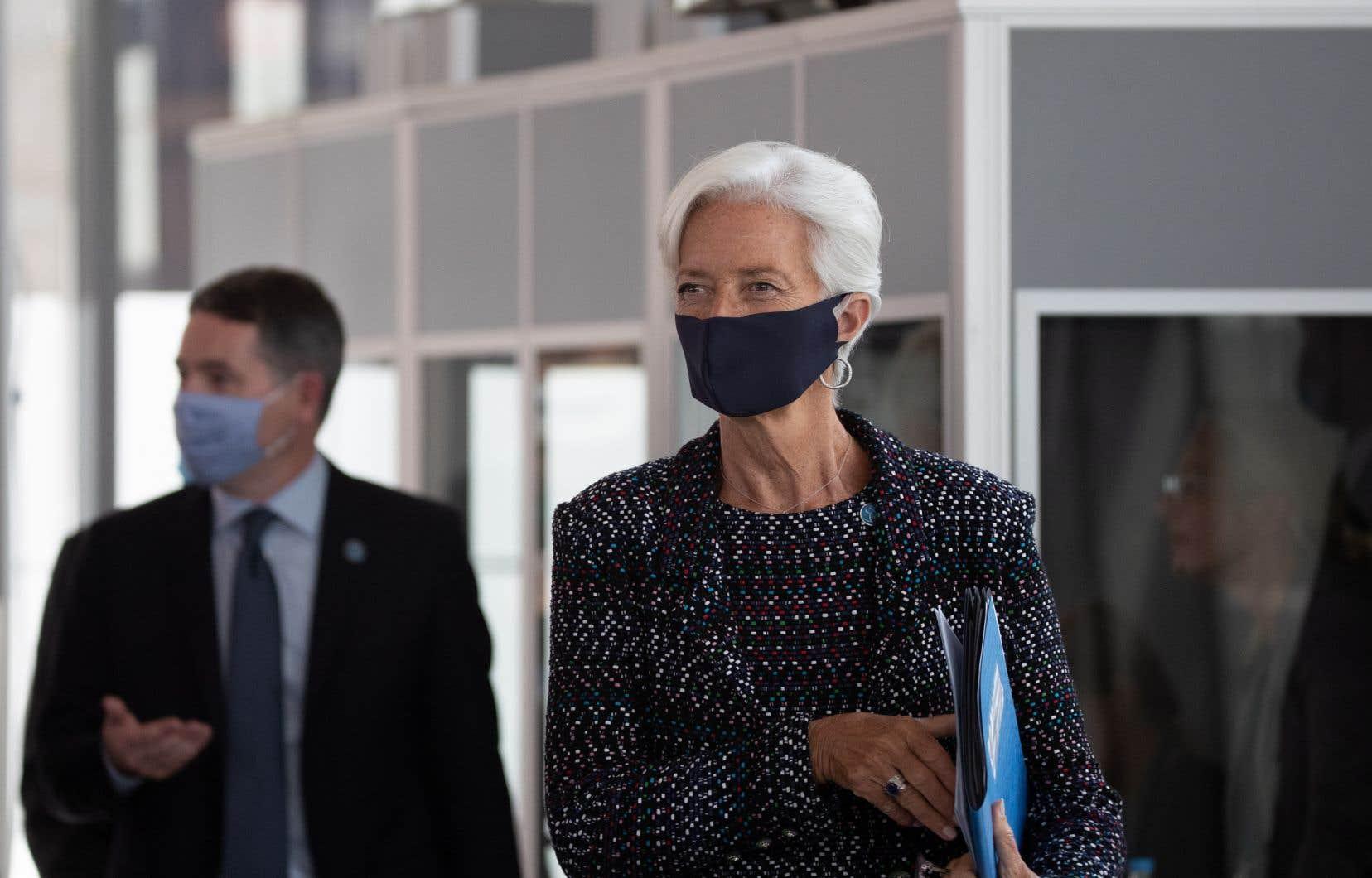 La présidente de la Banque centrale européenne, Christine Lagarde.