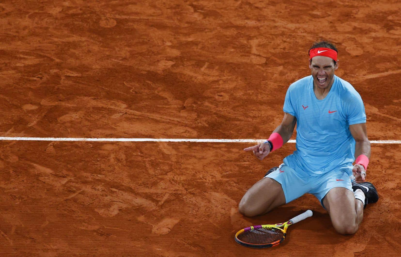 Rafael Nadal a remporté le tournoi parisien du Grand Chelem en 2005, alors qu'il n'avait que 19 ans.