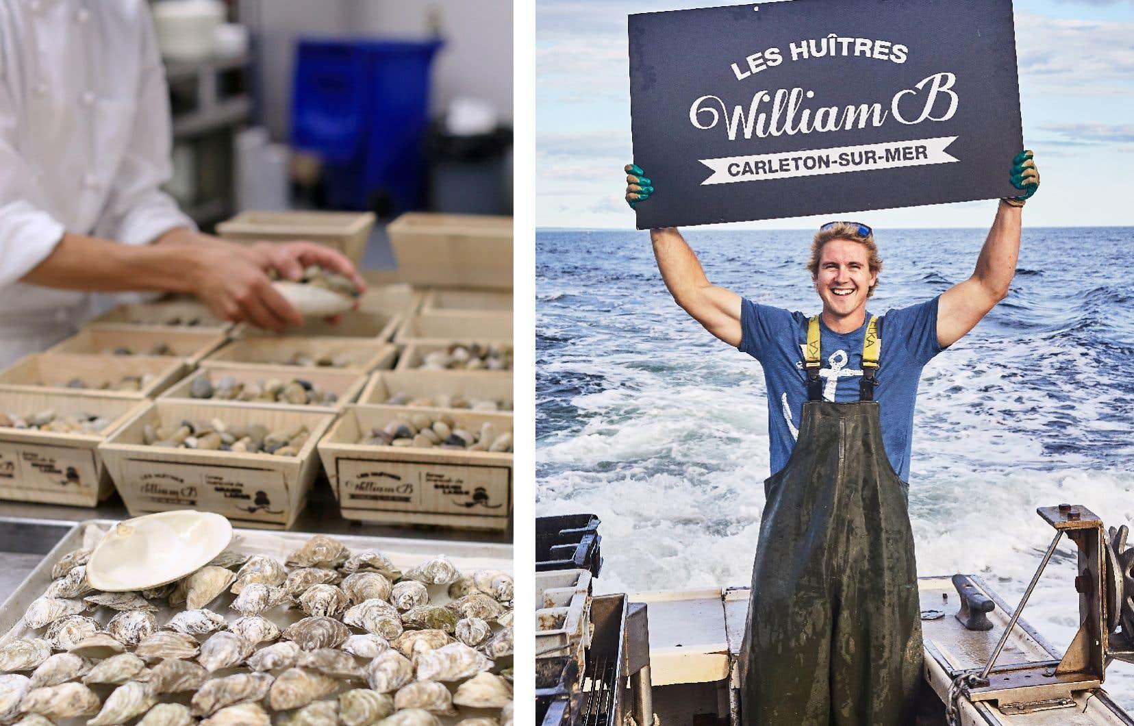 À 26 ans seulement, William Bujold est déjà un pionnier de l'élevage des huîtres au Québec et ses mollusques se retrouvent au menu des plus grandes tables du Québec.