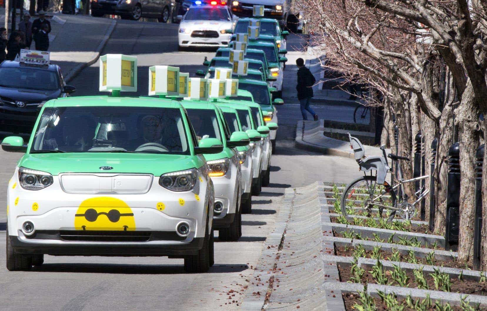 Environ 450 chauffeurs s'étaient retrouvés sans emploi, en janvier 2019, quand Téo Taxi avait initialement cessé ses activités.