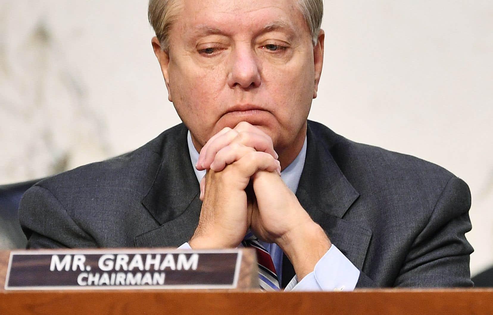 Le sénateur Lindsey Graham, très proche de Donald Trump, a été forcé de prendre acte de l'avance de Joe Biden dans les sondages.