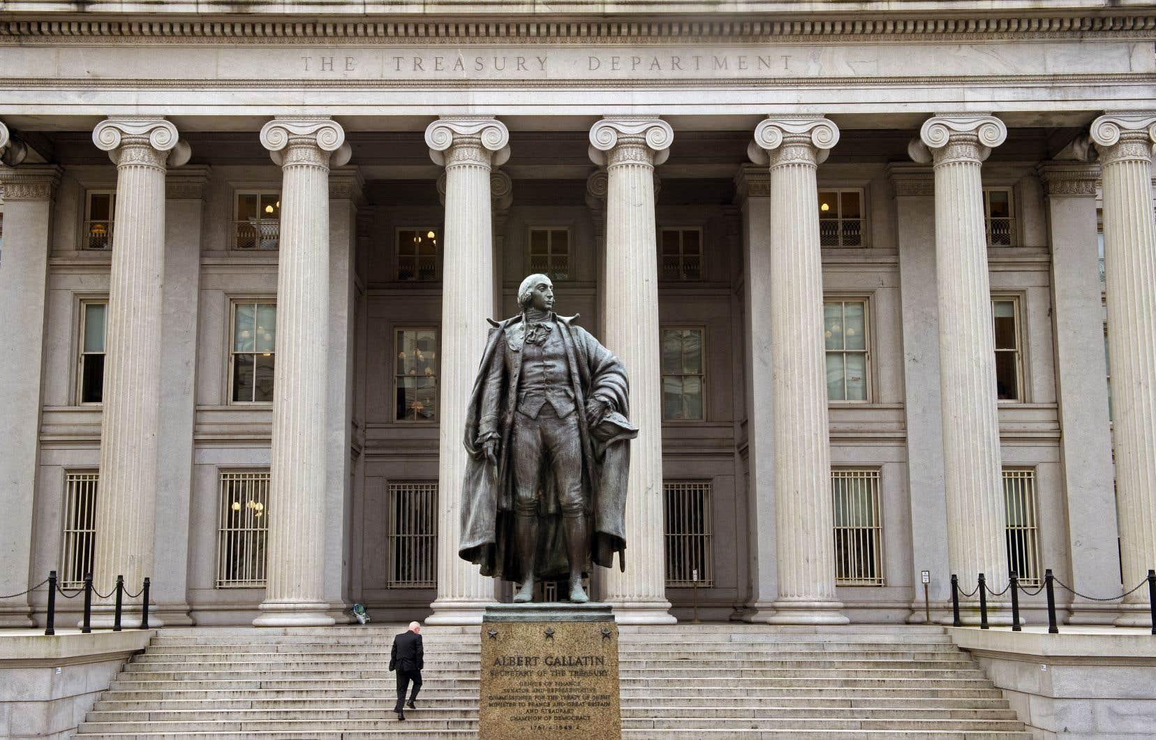Le déficit de l'État fédéral pour l'exercice 2020 clos en septembre atteint 3132 milliards de dollars, contre 984milliards en 2019.