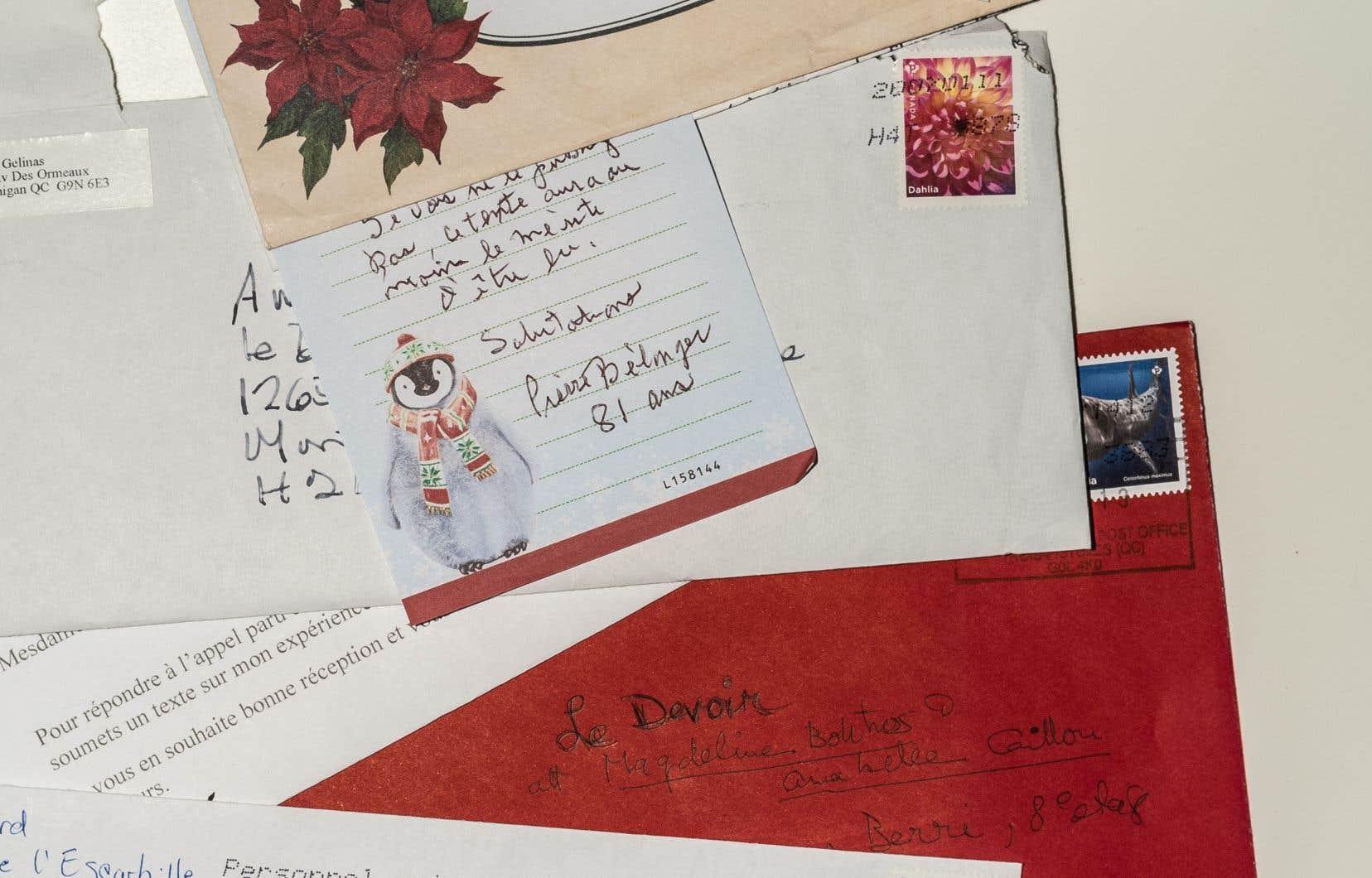 Au moment où la deuxième vague frappe de plein fouet le Québec, certaines des lettres reçues sont ici reproduites.