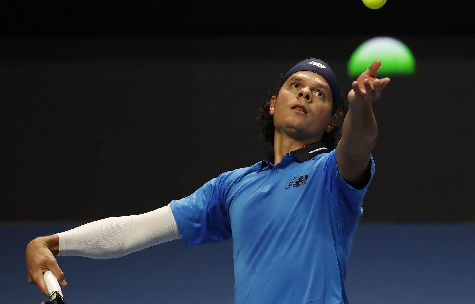 Raonic a offert une leçon de tennis à son rival, totalisant 15 as et affichant un taux d'efficacité de 85% avec sa première balle de service.