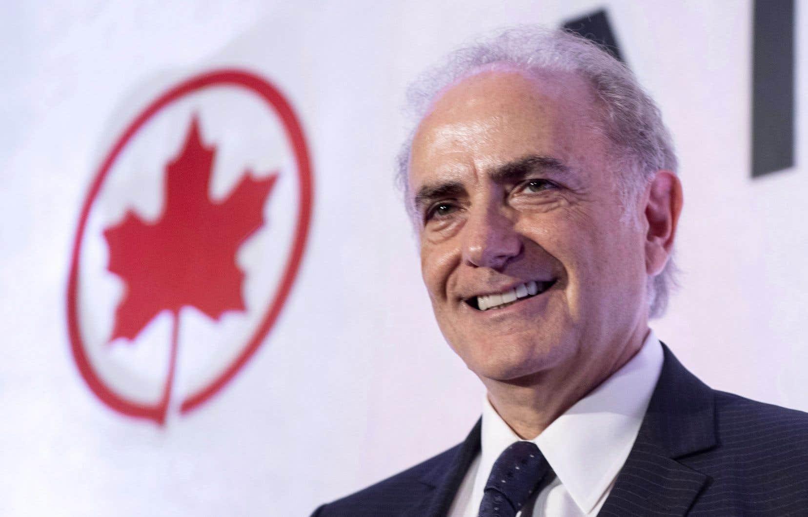 Calin Rovinescu, 65ans, était à la tête d'Air Canada depuis avril 2009.
