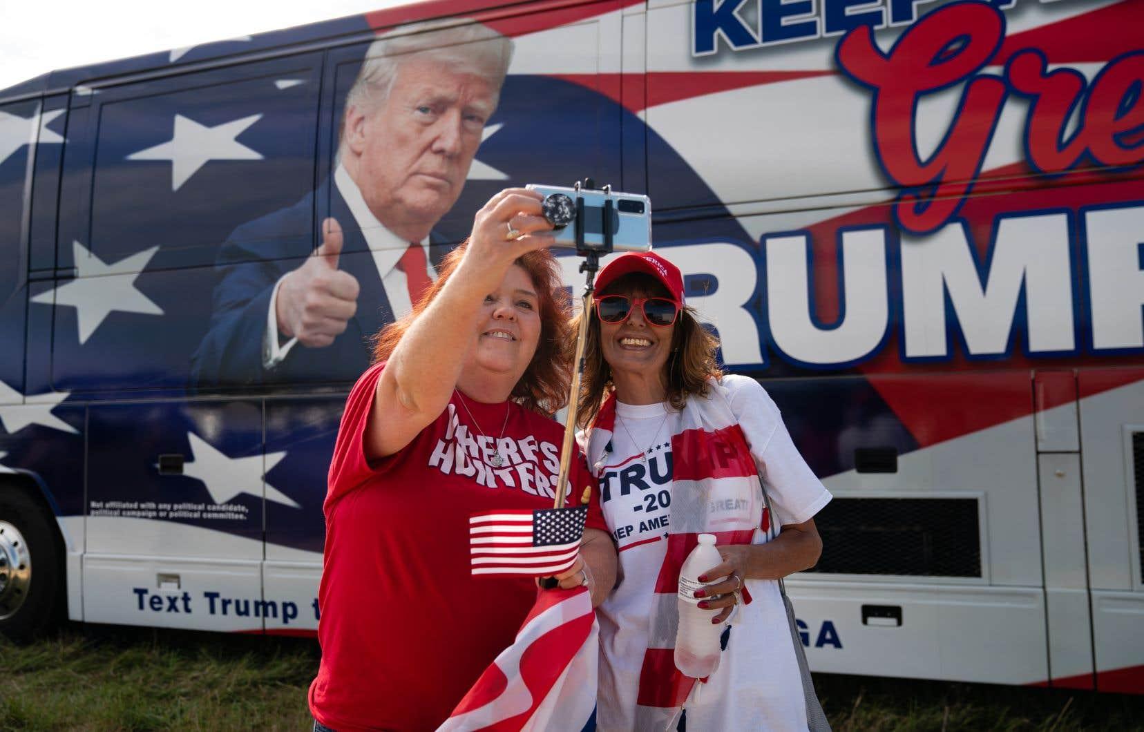 Les électrices de droite représentent environ le quart des votants dans les États dynamiques importants pouvant peser lourd dans la balance du collège électoral.