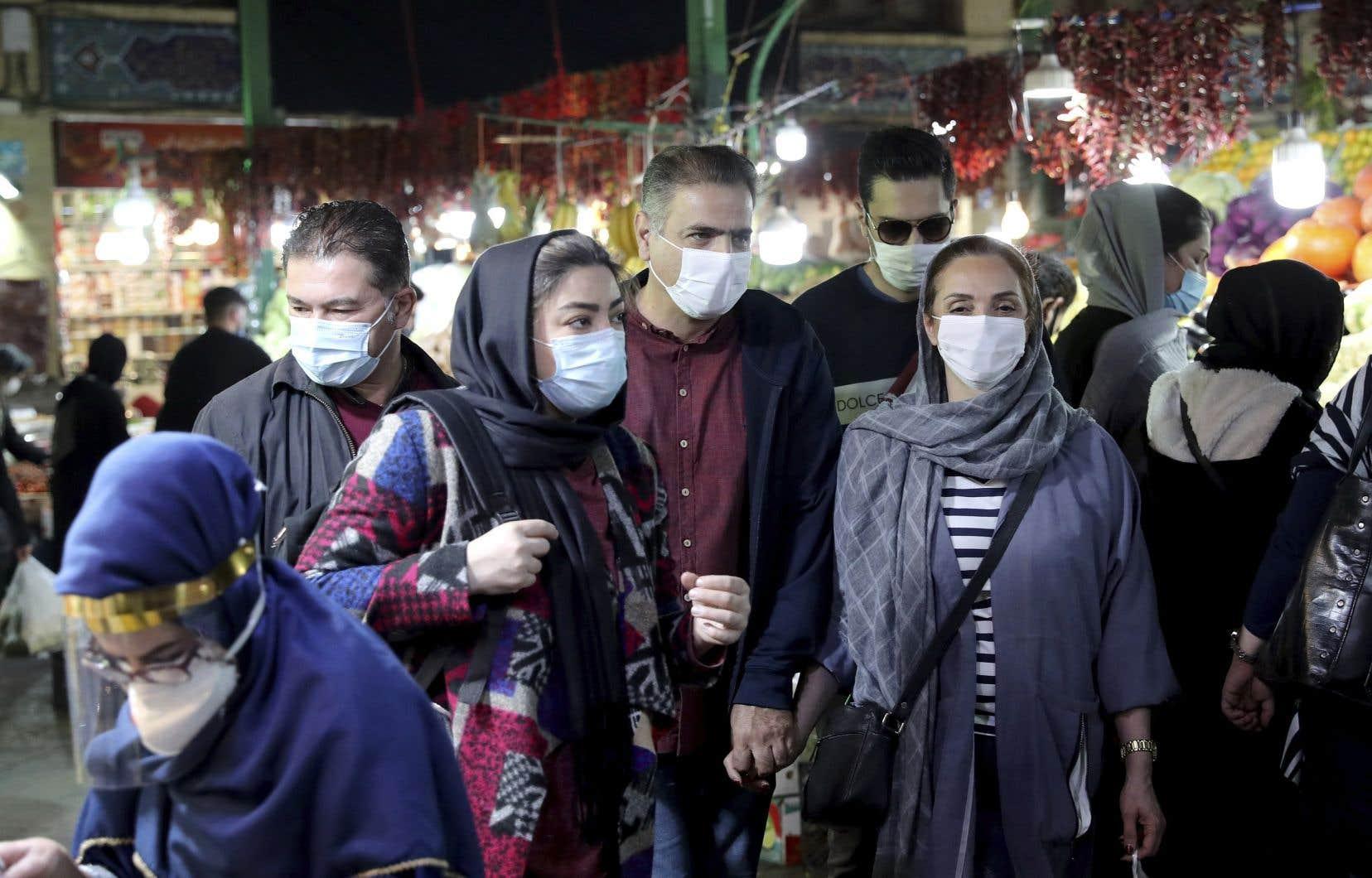 L'Iran a été au début de la pandémie un des épicentres mondiaux du virus et a depuis connu la pire épidémie au Moyen-Orient.