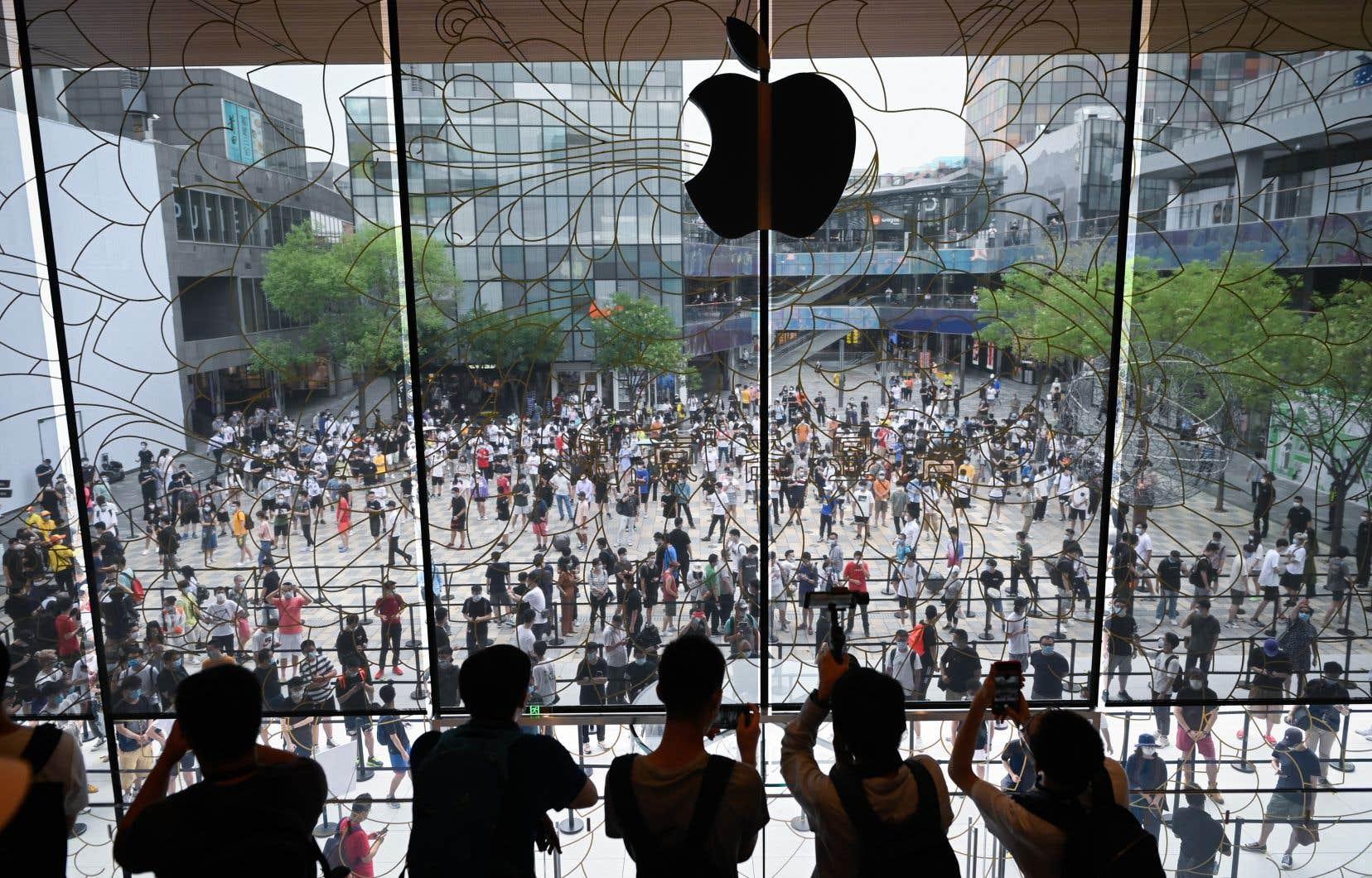 L'économie chinoise a poursuivi son accélération au troisième trimestre.