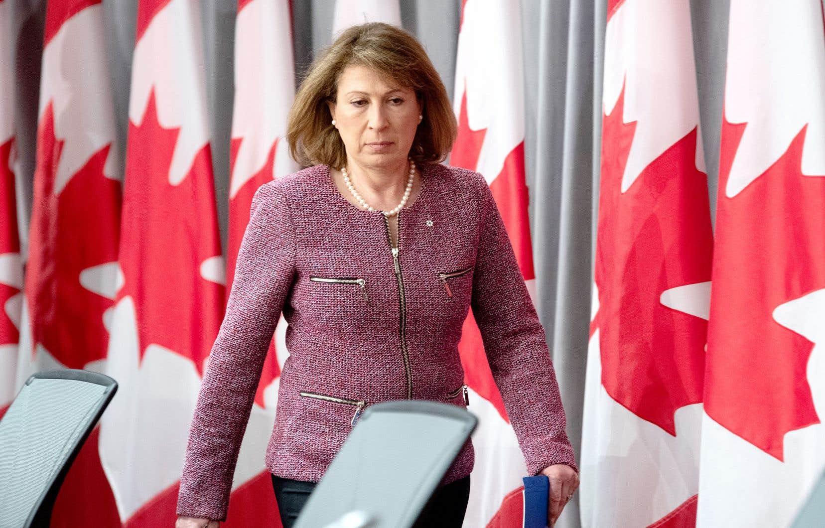 La scientifique en chef du Canada, Mona Nemer, est responsable de conseiller le premier ministre Justin Trudeau.