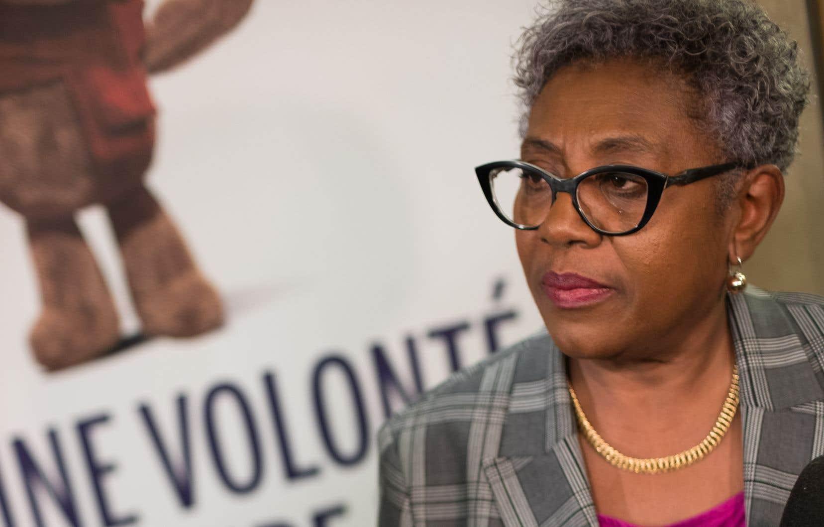 La présidente de la Commission spéciale sur les droits des enfants et la protection de la jeunesse, Régine Laurent