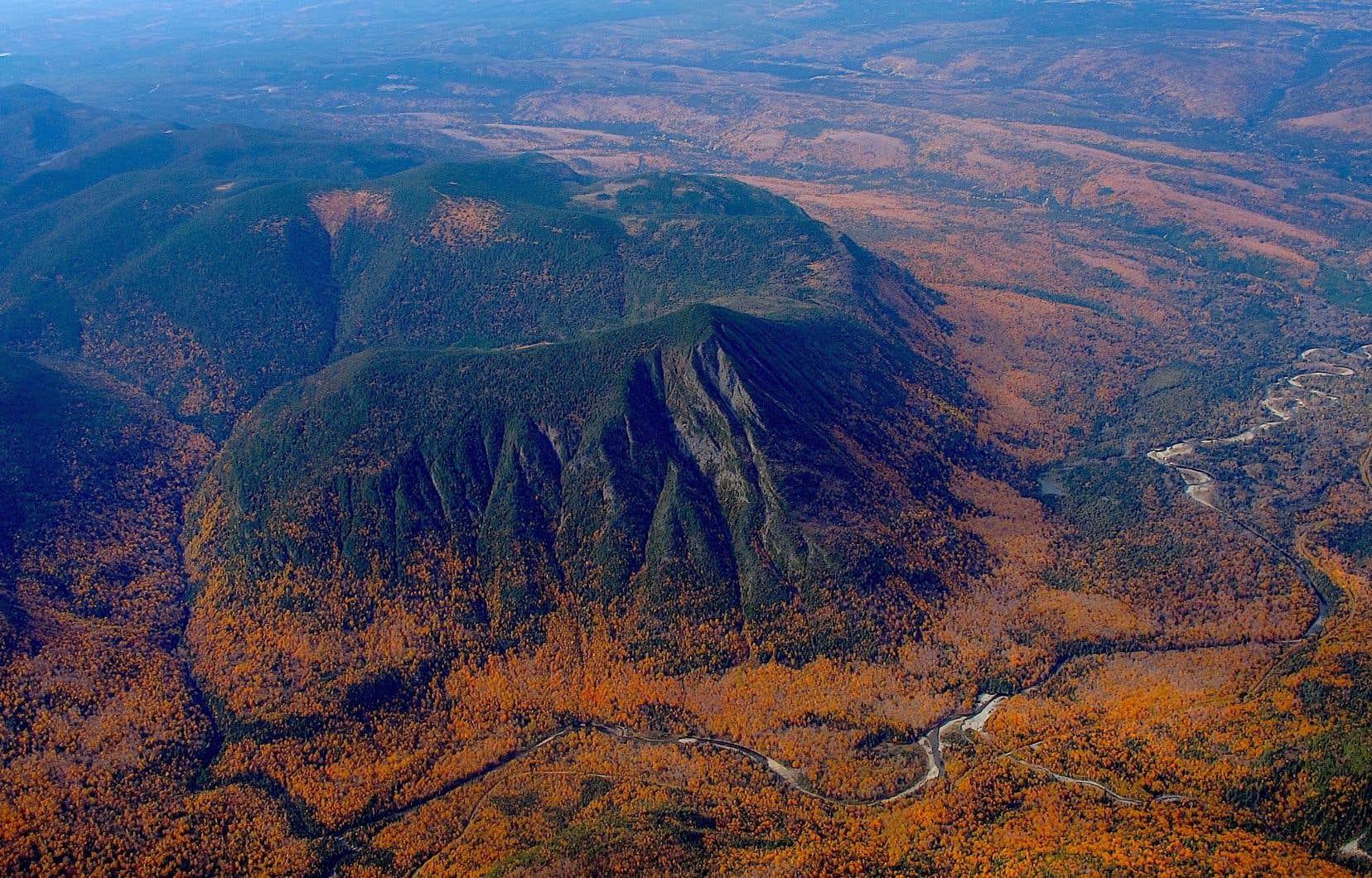 Le mont Nicol-Arbert, dans les Chic-Chocs