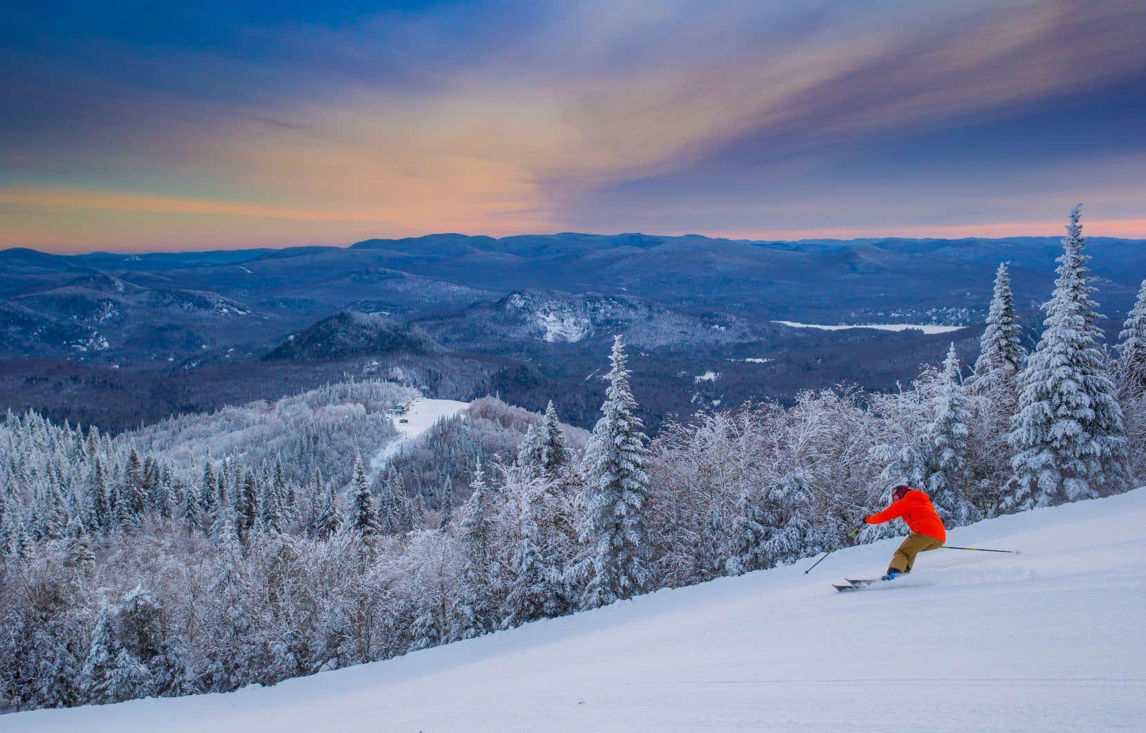 À Tremblant, les skieurs et planchistes sont attendus dès novembre.