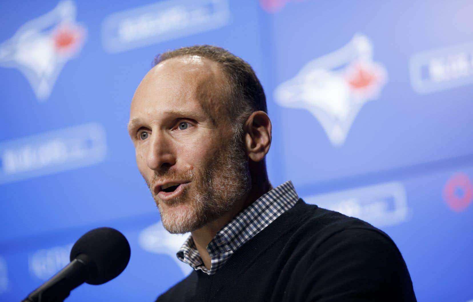 Le président des Blue Jays de Toronto, Mark Shapiro