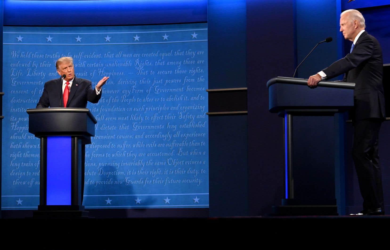 L'ultime débat entre Donald Trump et Joe Biden a une fois de plus révélé les personnalités aux antipodes des deux candidats.