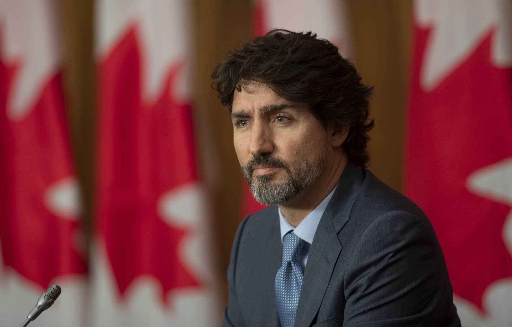 Le premier ministre Justin Trudeau fait le point sur la pandémie de COVID-19.