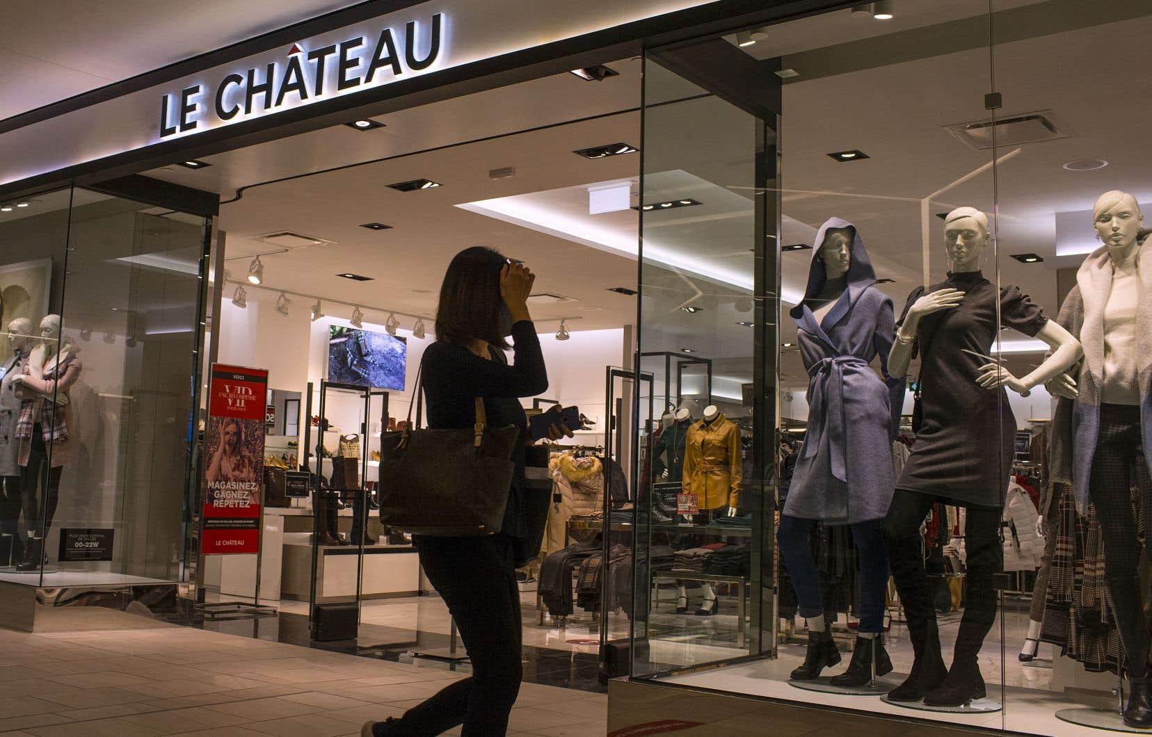 La chaîne Le Château a annoncé, vendredi, qu'elle comptait liquider ses actifs et cesser ses activités.