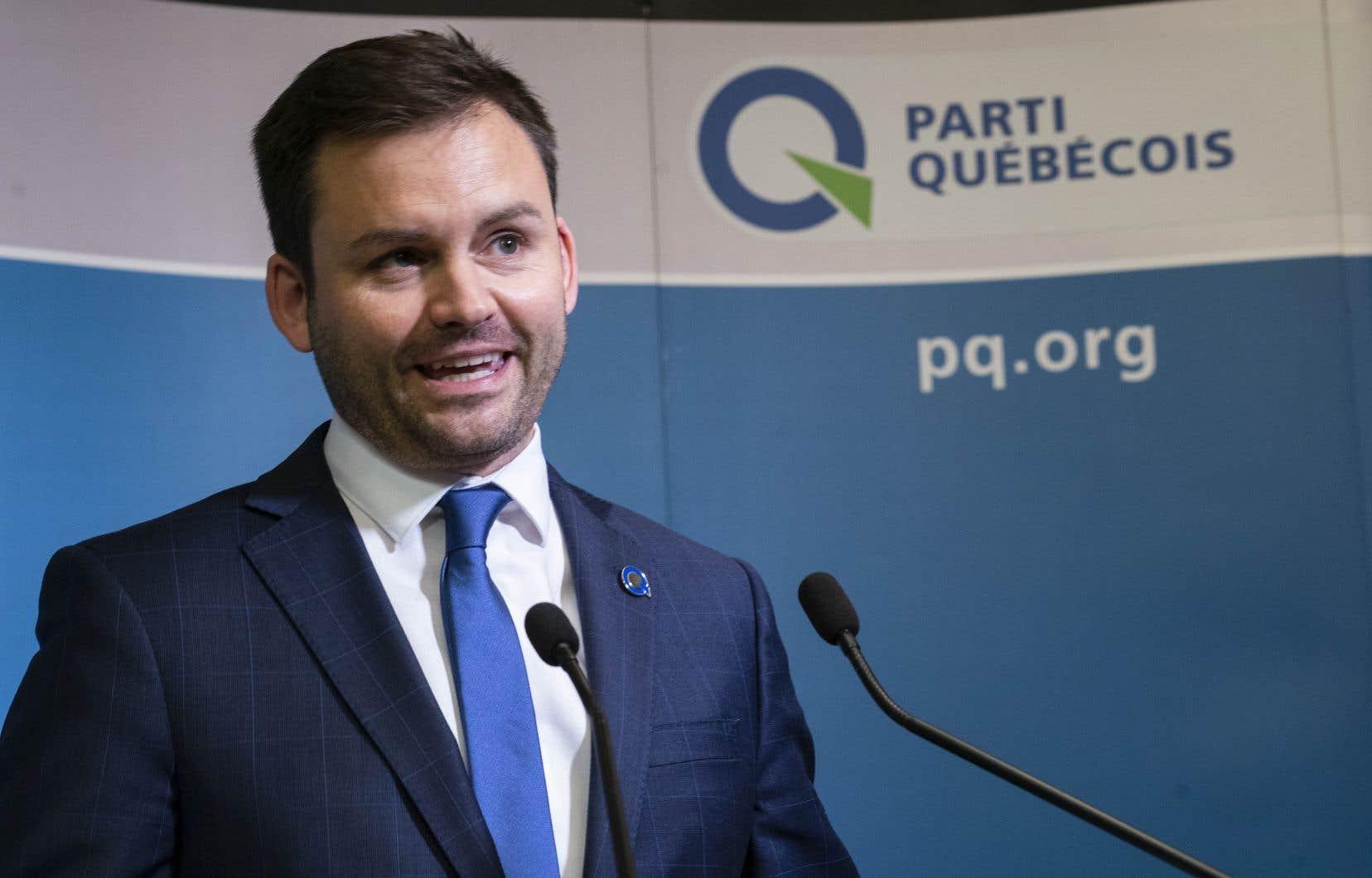 Paul St-Pierre Plamondon est devenu le 10echef du PQ, le 9octobre dernier.