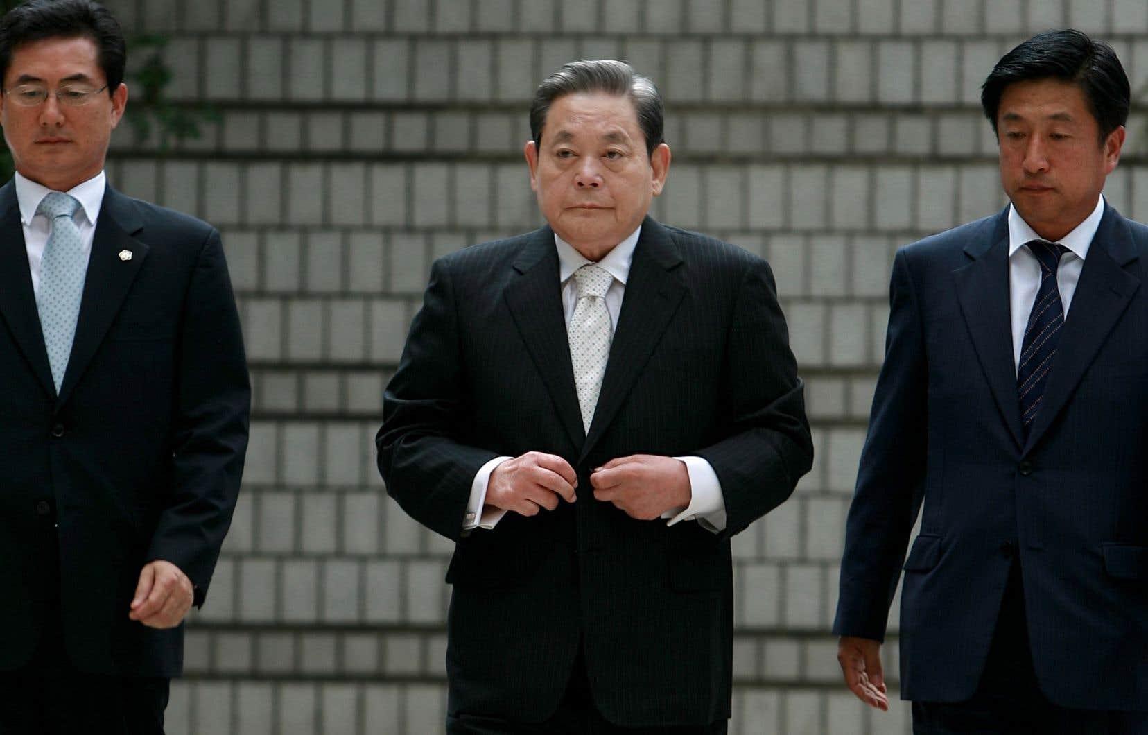 Lee Kun-Hee en mai 2014