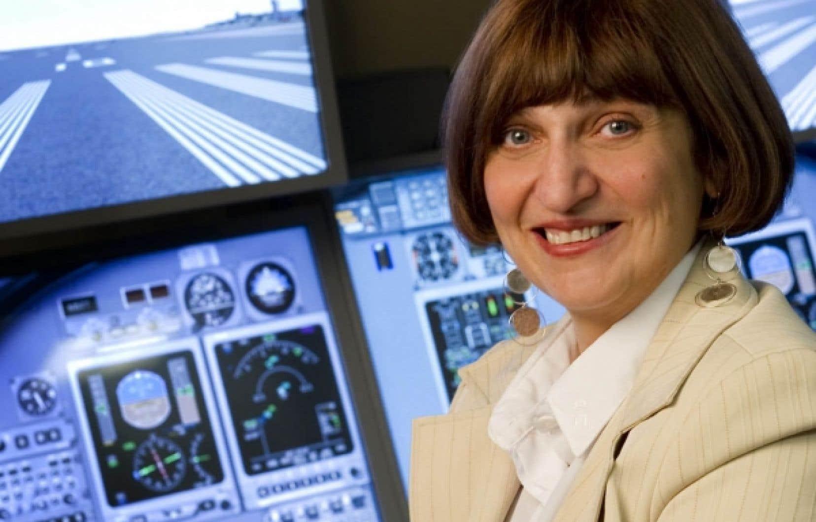 Professeure titulaire à l'ÉTS en génie de la production automatisée, Ruxandra Botez est considérée comme une sommité mondiale dans le domaine de l'aéronautique.<br />