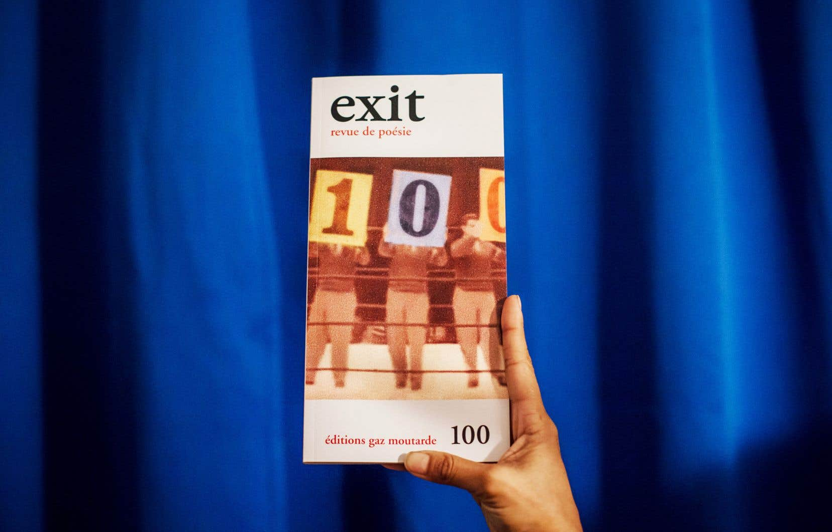 Fondée en 1995 dans le sillage de la défunte revue «Gaz moutarde» par le poète Tony Tremblay et par l'éditeur et conteur André Lemelin, Exit est maintenant dirigée par le poète Stéphane Despatie.