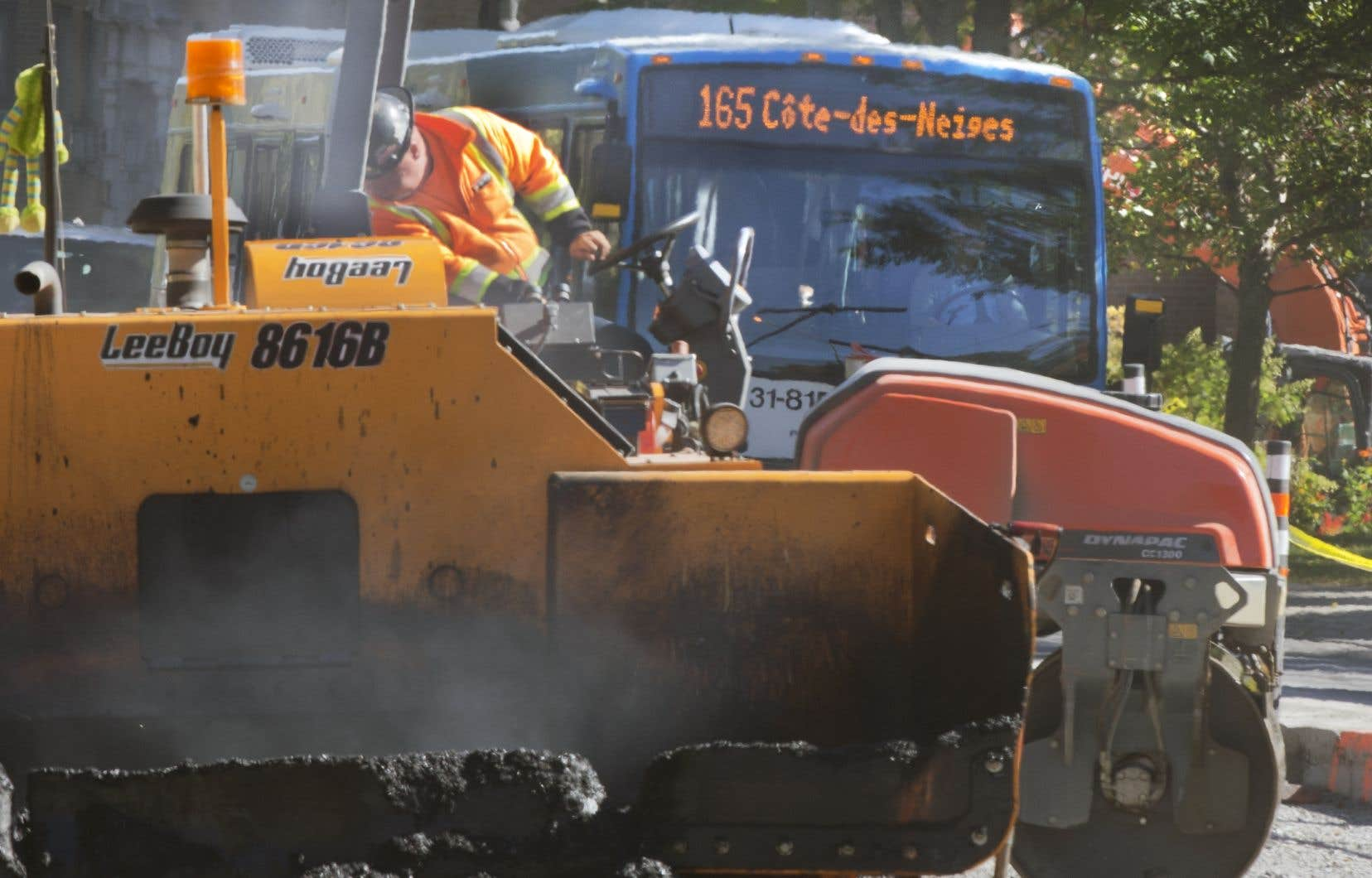 La révision des chantiers avait été demandée par la mairesse Valérie Plante en septembre dernier.