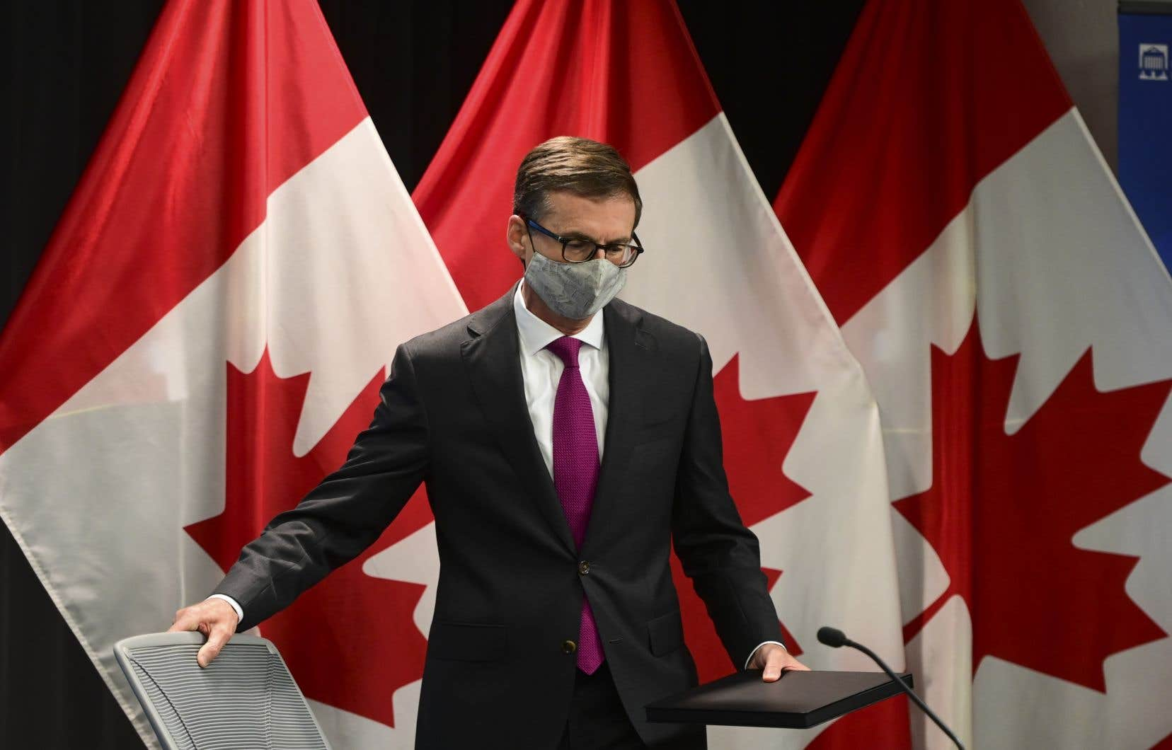 Le gouverneur de la Banque du Canada, Tiff Macklem