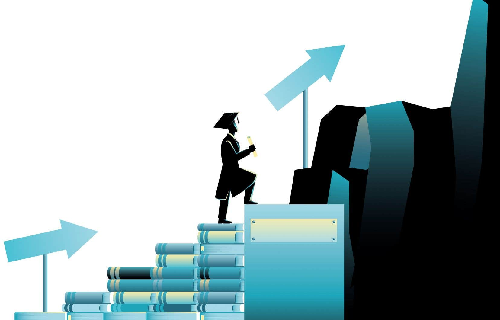 Selon une étude, moins de 20% des titulaires d'un doctorat au Canada occupent un emploi de professeur d'université à temps plein. Alors où sont tous les autres?