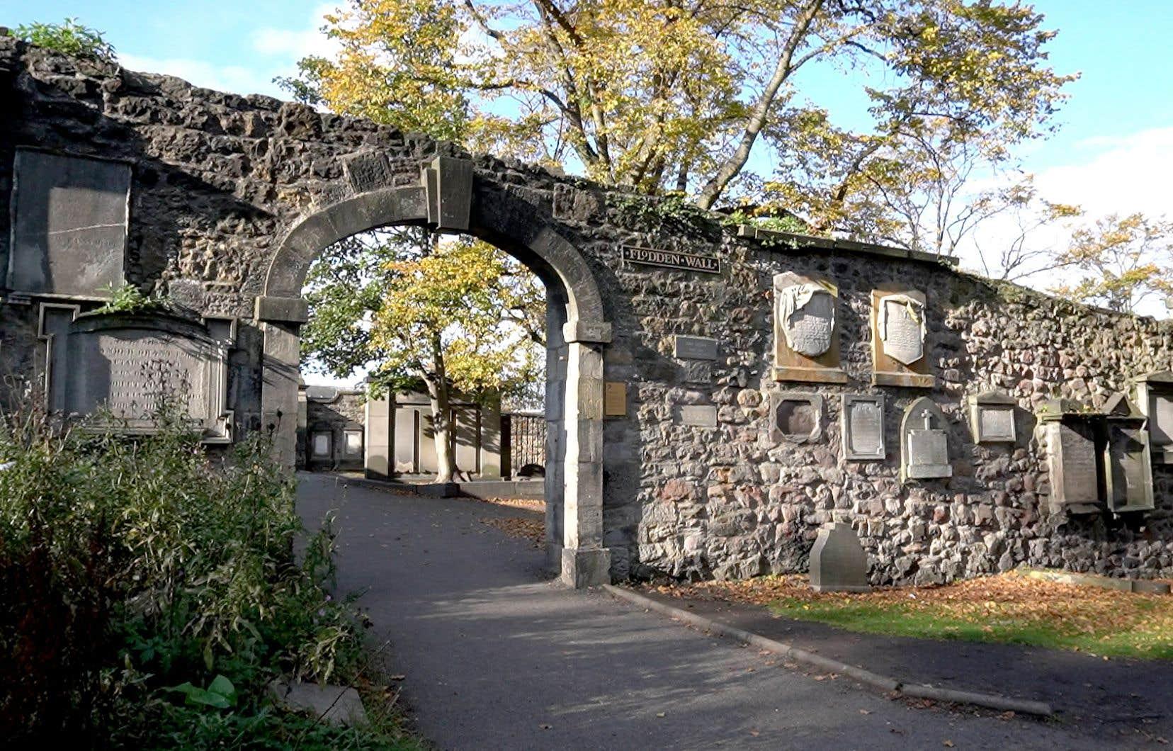 Le célèbre cimetière de Greyfriars, qui serait l'un des plus hantés au monde