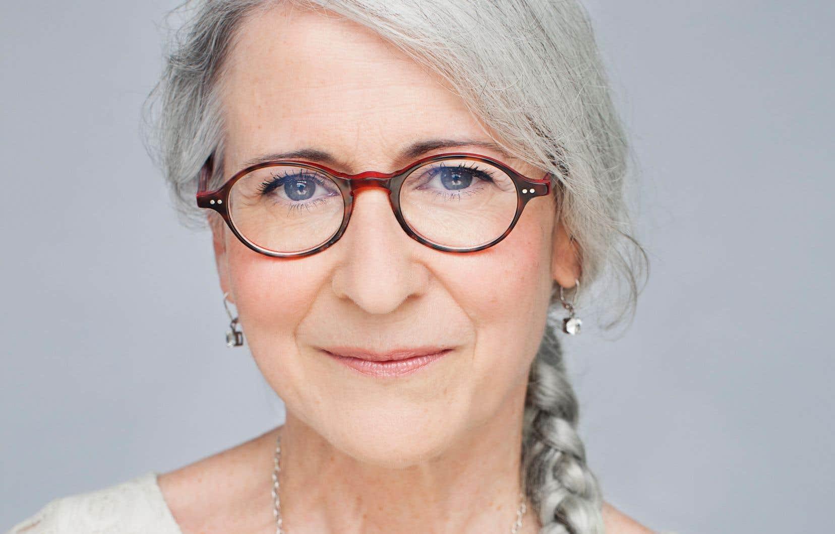 L'autrice Martine Desjardins