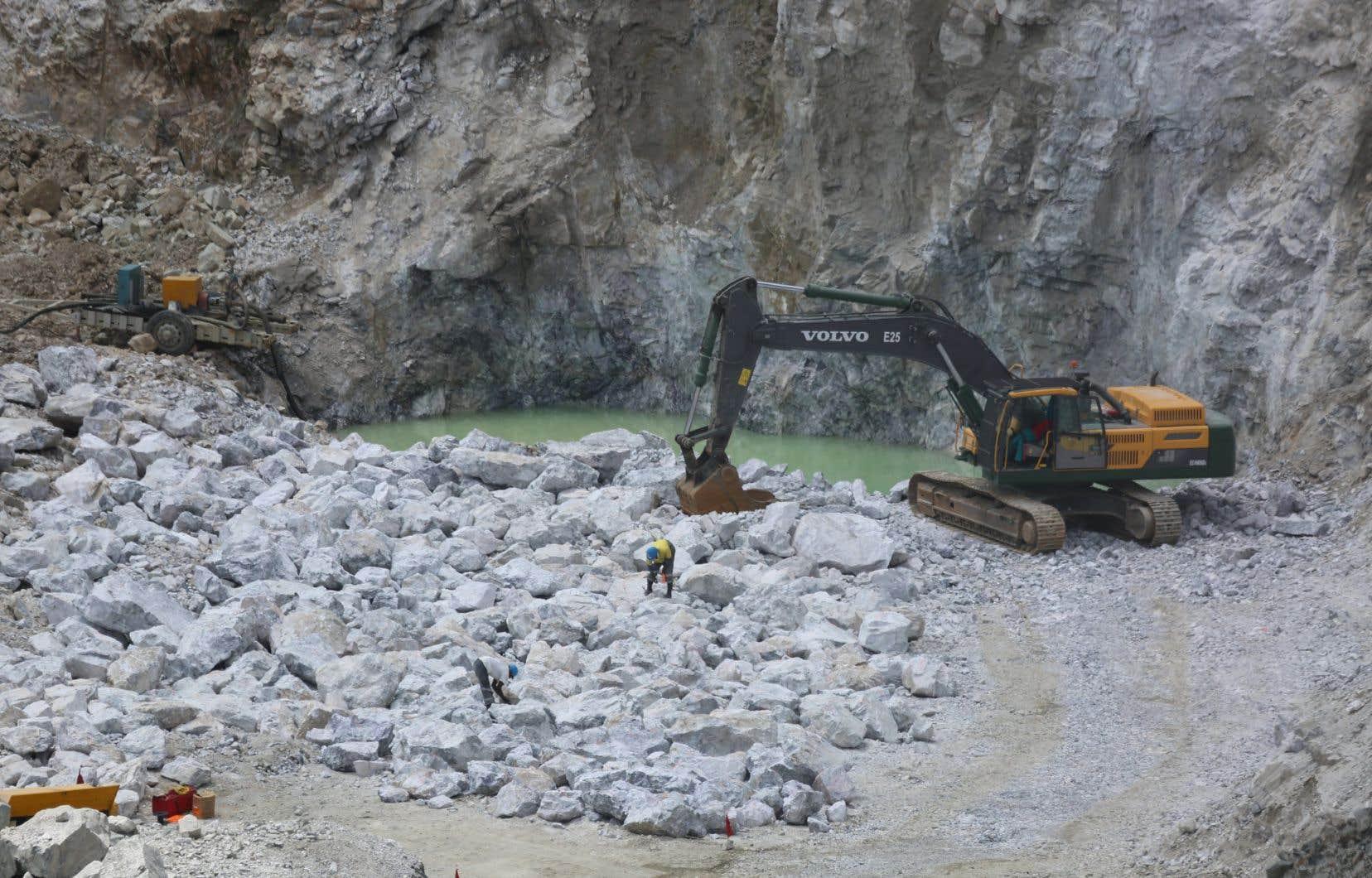 Le lithium, le graphite et le cobalt sont au cœur de la stratégie du gouvernement Legault.