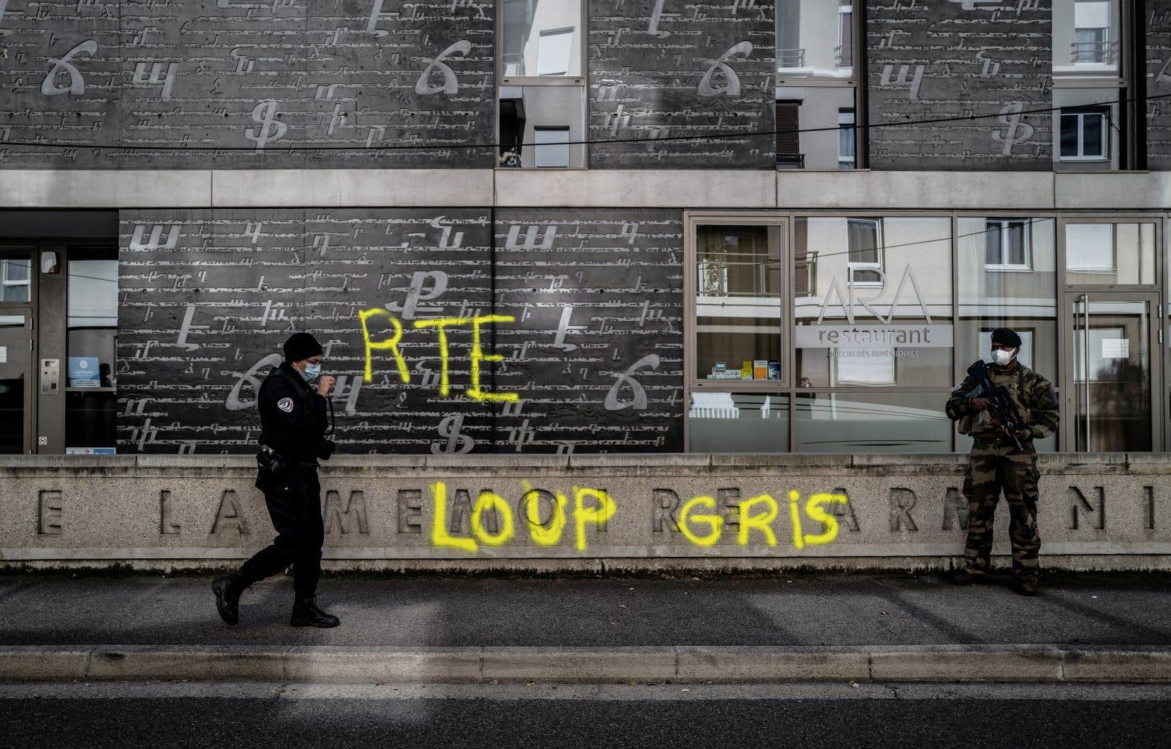 Le groupuscule des Loups gris a été notamment pointé du doigt après des incidents ayant opposé la semaine dernière communautés turque et arménienne à Décines-Charpieu, près de Lyon.