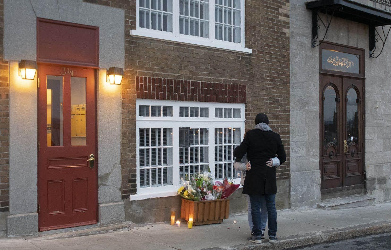 Carl Girouard, 24 ans, est soupçonné d'avoir semé la mort samedi soir dans les rues du Vieux-Québec.