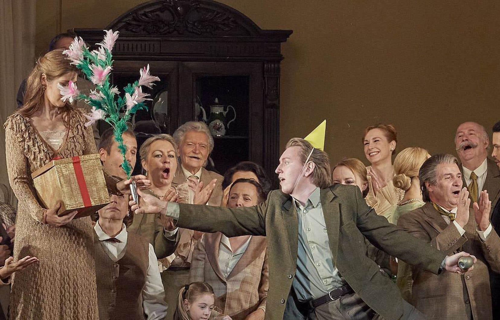 La représentation d'«Eugène Onéguine», présentée en salle vendredi dernier, sera diffusée gratuitement par l'Opéra de Vienne.
