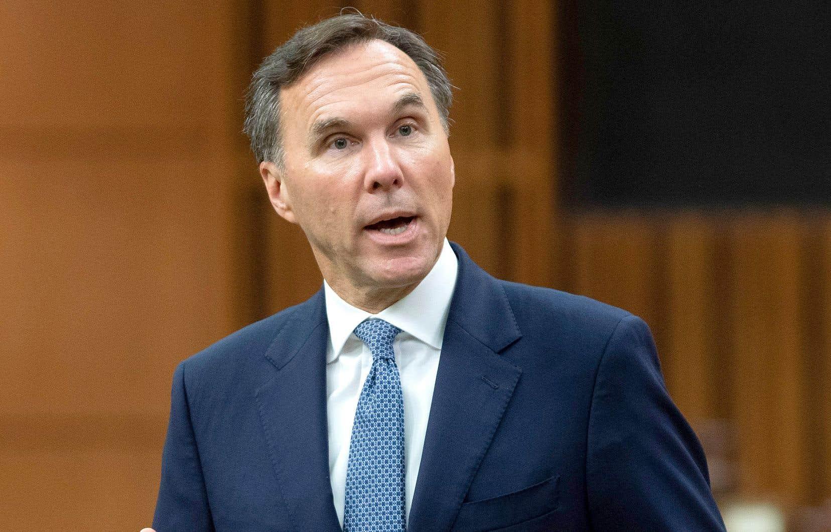 L'ex-ministre fédéral des Finances BillMorneau