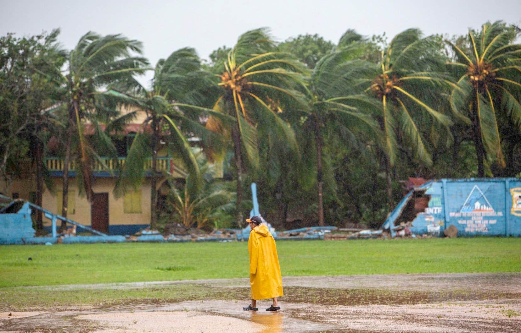 L'ouragan «Eta» a touché terre, mardi matin, au sud de Bilwi (sur la photo), la ville principale de la côte nord du Nicaragua, également connue sous le nom de Puerto Cabezas.