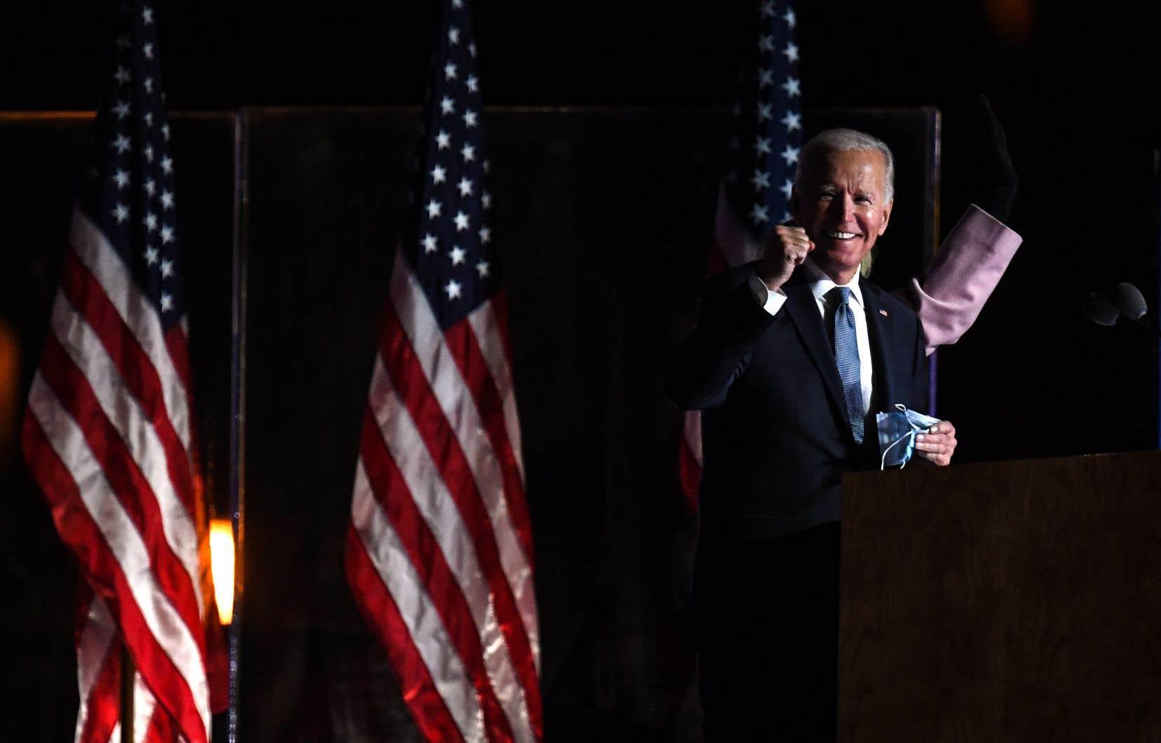 Joe Biden a pris la parole dans la nuit de mardi à mercredi pour appeler ses partisans à la patience, mais également exprimer son optimisme.
