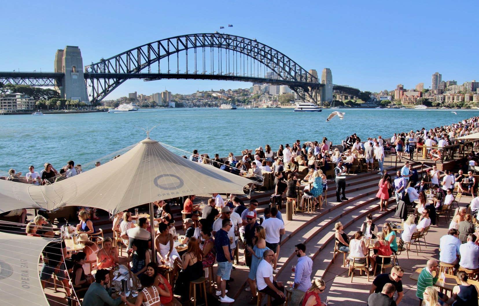 La ville de Sydney, en Australie, un jour d'automne prépandémie