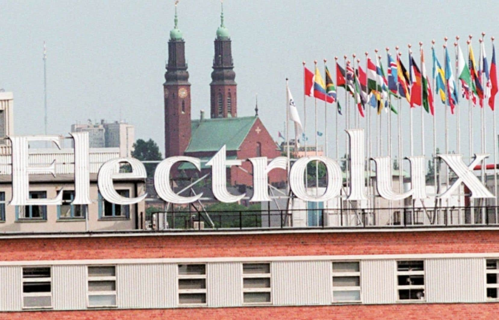Le siège social d'Electrolux, à Stockholm, en Suède. La haute direction de l'entreprise ne manifeste aucun intérêt à garder ouverte son usine de L'Assomption et à y protéger les 1300 emplois. Sa décision de déménager la production aux États-Unis, annoncée en décembre dernier, est sans appel.